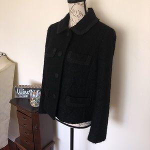 J. Crew Mohair Wool blend Coat Jacket
